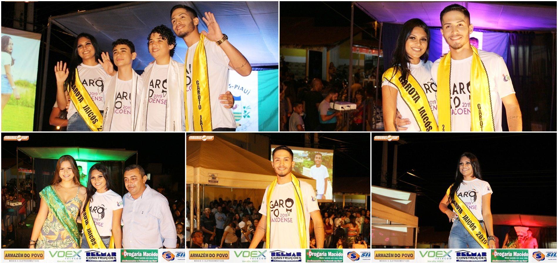 Matheus Mesaque e Vitória Ingrid são eleitos Garoto e Garota Jaicoense 2019