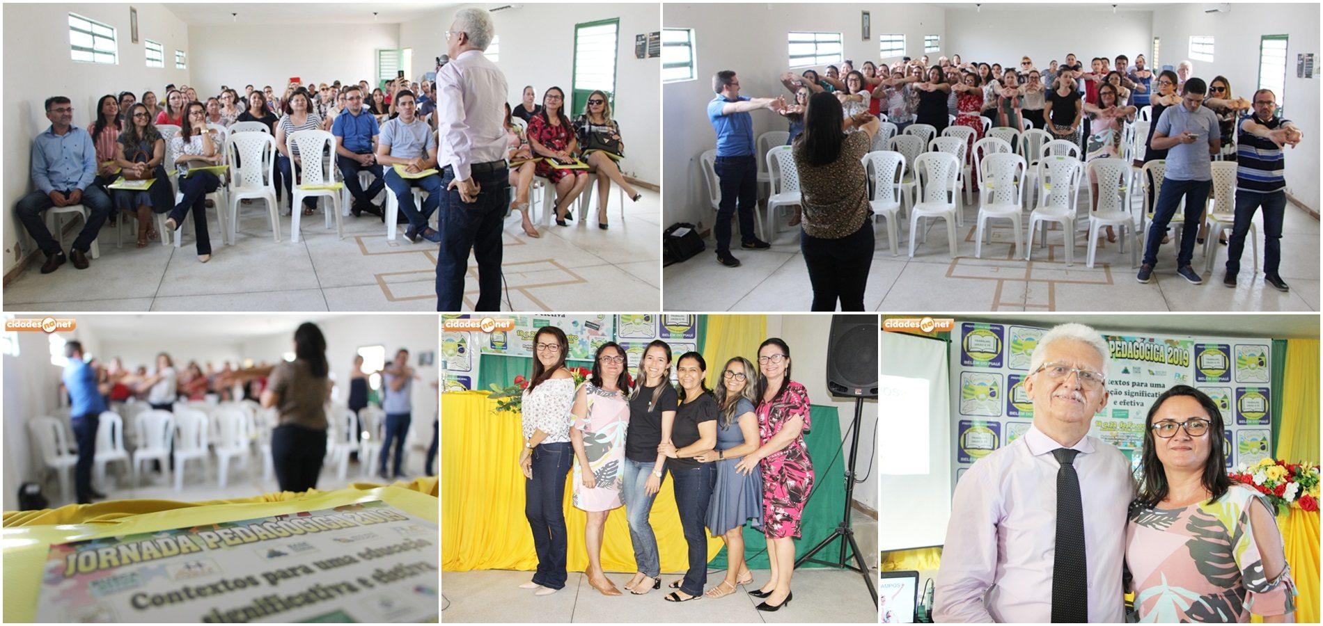 Palestras marcam abertura da Jornada Pedagógica em Belém do Piauí