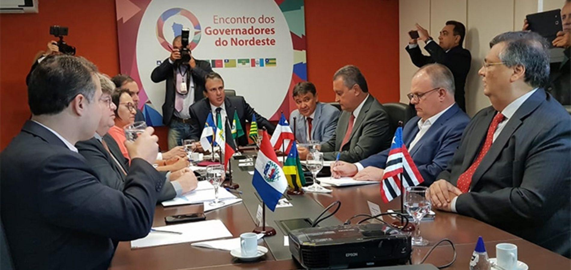 Governadores do Nordeste definem prioridades que vão ao Congresso