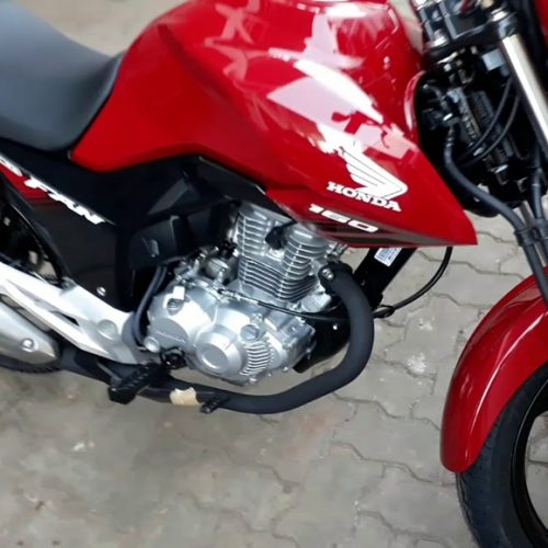 Criminosos armados invadem residência e roubam moto em Sussuapara