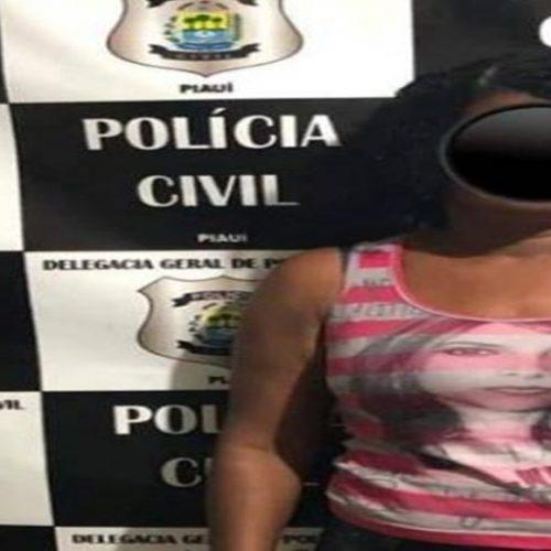Polícia Civil prende mulher acusada de envolvimento na morte de menor em Picos