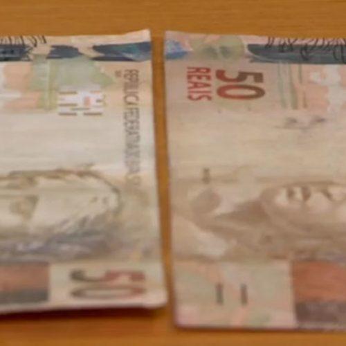 Notas falsas encontradas no Piauí equivalem a mais de R$ 250 mil