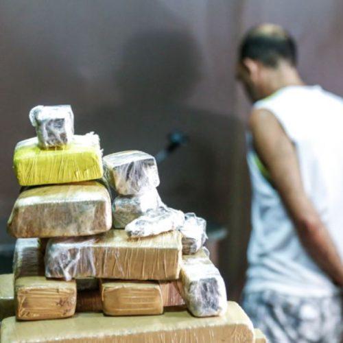 Homem é preso com droga em mala avaliada em R$ 40 mil no Piauí