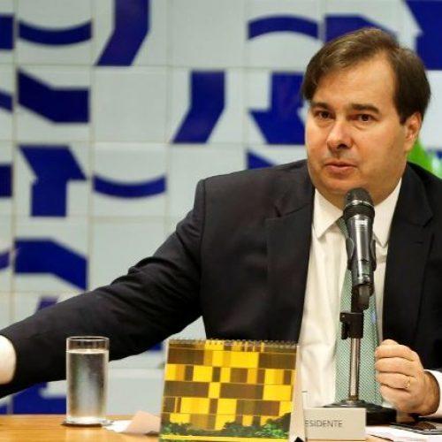 Rodrigo Maia espera votar regulamentação da Lei Kandir até fim de março