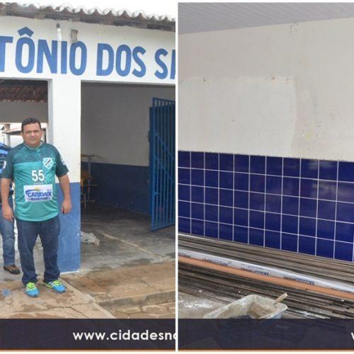 CARIDADE | Prefeitura investe R$ 400 mil em reformas de escolas do município