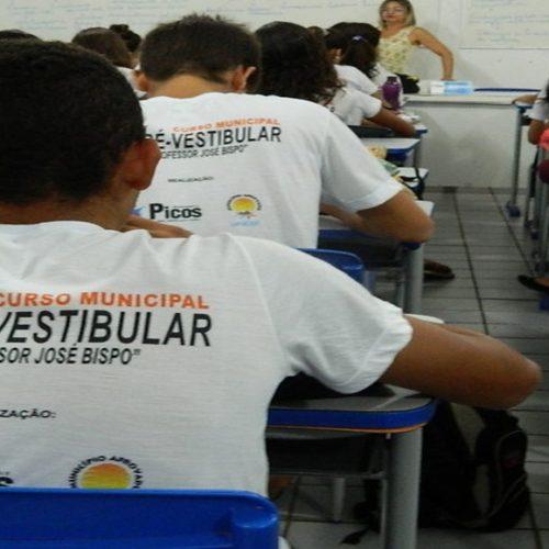 Prefeitura de Picos divulga inscrições deferidas para Cursinho Municipal; provas acontecem no sábado (23)