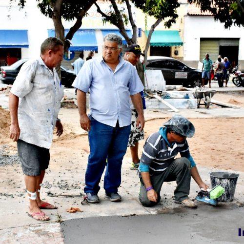 Prefeitura de Inhuma reforma praça João de Deus Carvalho e garante mobilidade, entretenimento e lazer