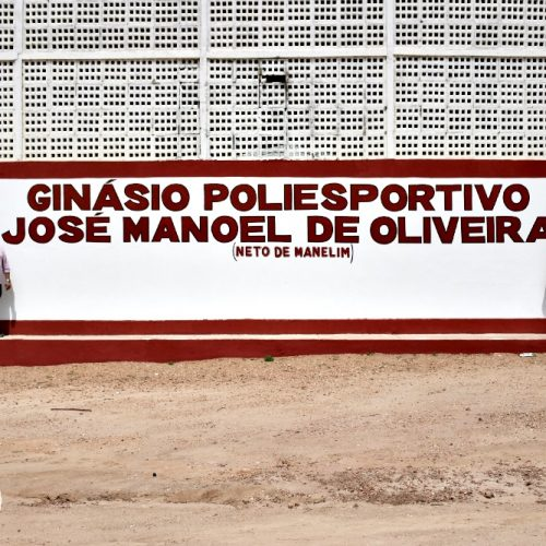 VILA NOVA   Ginásio Poliesportivo recebe o nome de 'José Manoel de Oliveira'
