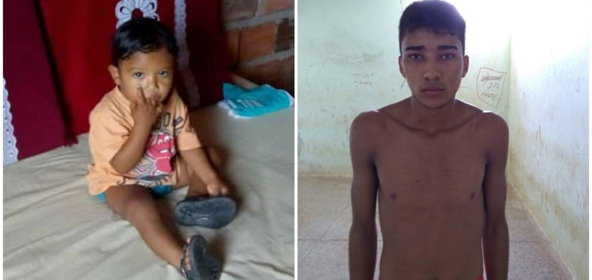 Pai mata filho de 1 ano e 6 meses por ciúmes da mãe no Sul do Piauí