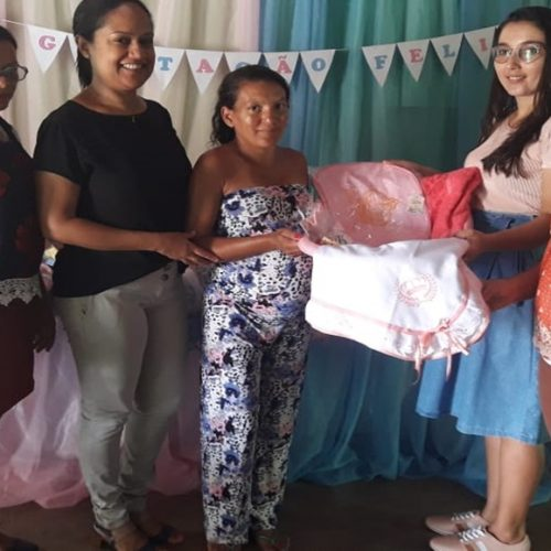 CRAS inicia atividades do projeto Gestação Feliz em Vera Mendes