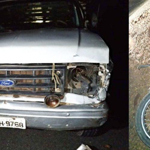Grave acidente entre caminhão e motocicleta deixa vítima fatal em Vera Mendes