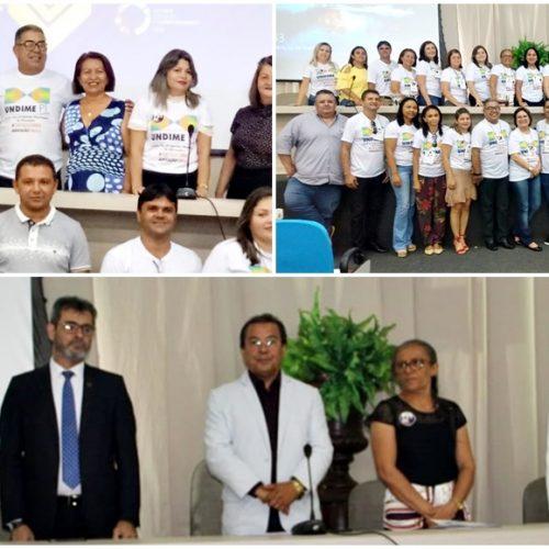 IINHUMA│Secretário de Educação participa do 14° Fórum da UNDIME-PI em Teresina