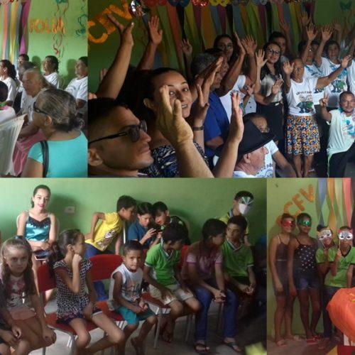 Prefeitura de Vera Mendes promove baile de carnaval para idosos, crianças e adolescentes atendidos por programas sociais