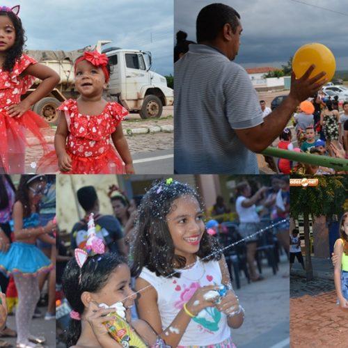 Prefeitura de Jaicós promove baile de carnaval para crianças; fotos