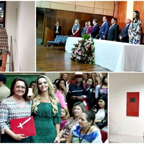 No Dia da Mulher, primeira-dama de Inhuma participa de evento em Teresina