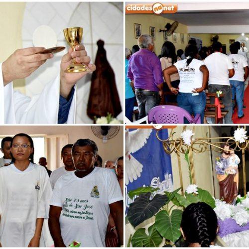 FRANCISCO MACEDO│Missa solene marca encerramento dos festejos de São José no povoado Retiro; fotos