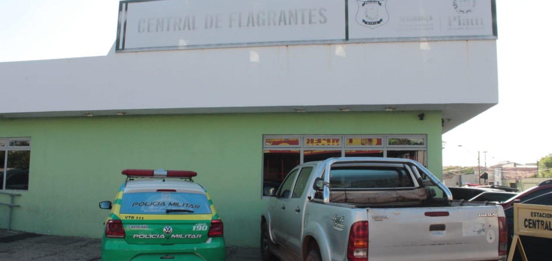No Piauí, criminosos invadem delegacia e tentam furtar moto apreendida durante operação
