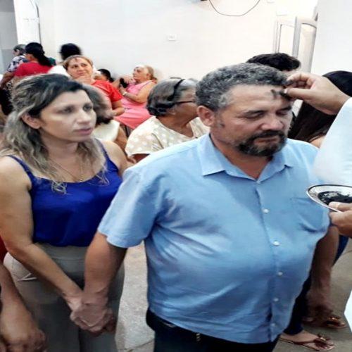 Em Bocaina, Missa de Cinzas reúne centenas de pessoas