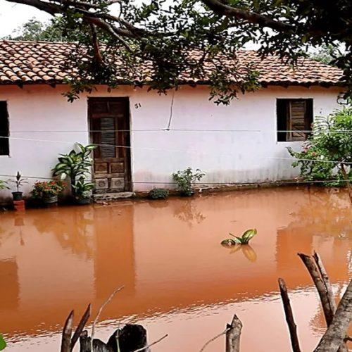Cidade do Piauí registra maior volume de chuvas do estado e 10 famílias ficam desabrigadas