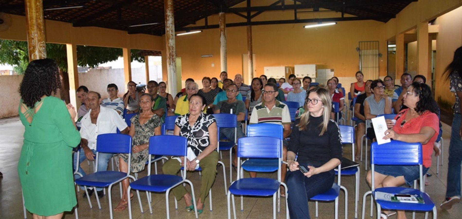 SEMAM realiza palestra sobre Coleta Seletiva em Picos