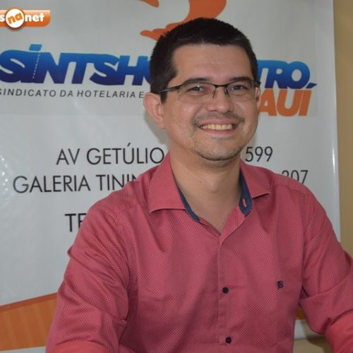 Presidente do Sintshogastro visita trabalhadores e empresas de Picos