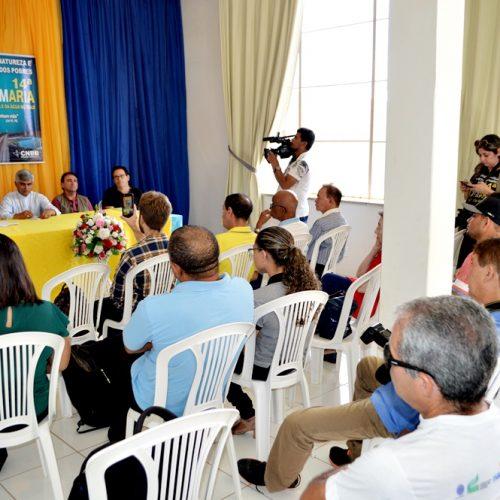 PICOS│Impacto de projetos econômicos é discutido em entrevista coletiva com Diocese e técnicos do governo