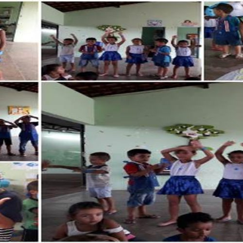 Educação Infantil de Vera Mendes realiza culminância do projeto 'Dia Mundial da Água'