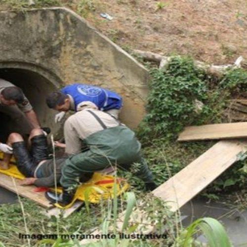 Homem é encontrado morto após se afogar em bueiro no Piauí