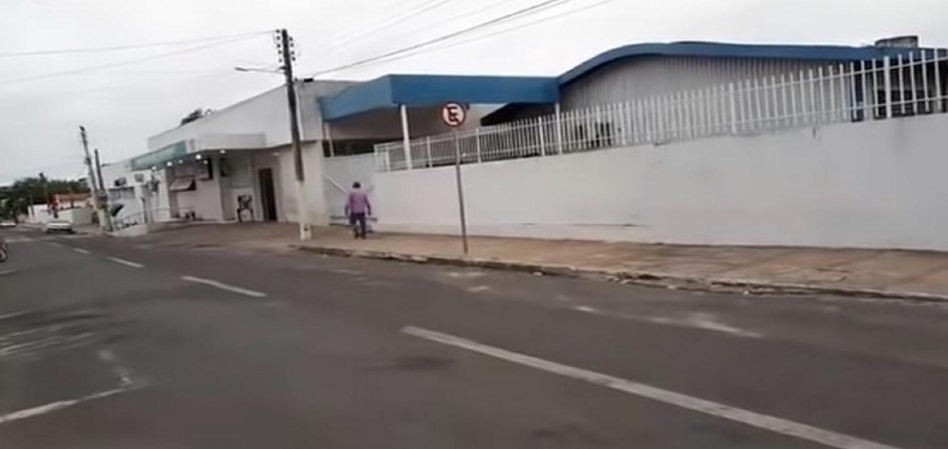 Funcionários de hospital no Piauí estão revoltados com atrasos salariais