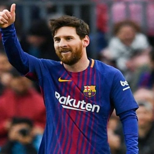 Astro do Barcelona vai trocar Messi por Neymar