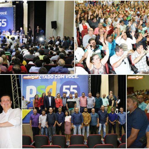 Em encontro bastante prestigiado, PSD filia 15 novos prefeitos e se fortalece para as eleições 2020