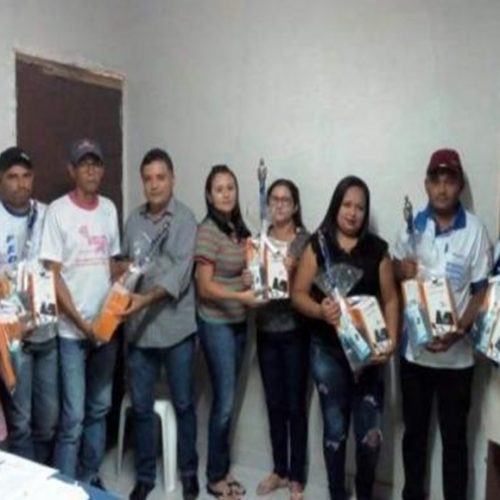 Prefeitura de Vera Mendes entrega kits para Agentes Comunitários de Saúde