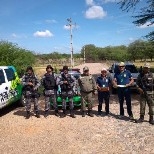 ADAPI de Jaicós intensifica barreira sanitária contra Peste Suína Clássica no limite de Pio IX com Ceará