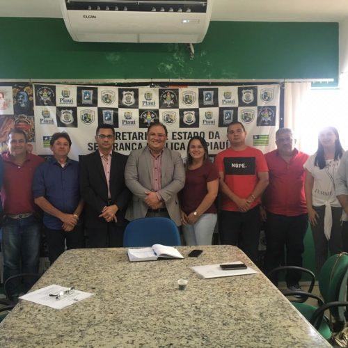 Prefeito e vereadores vão à Teresina em busca de melhorias para Segurança Pública de Inhuma
