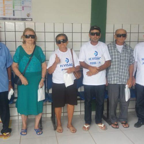 Seis pacientes de Alagoinha do PI são operados durante o Mutirão de Catarata em Picos