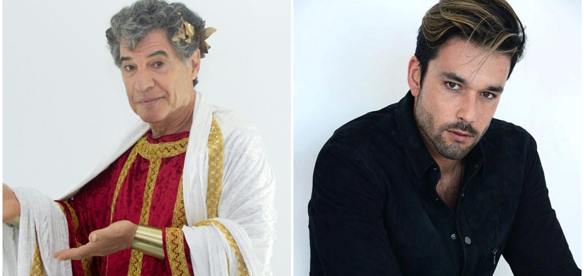 Atores Paulo Betti e Sérgio Marone estarão na Paixão de Cristo, no Piauí