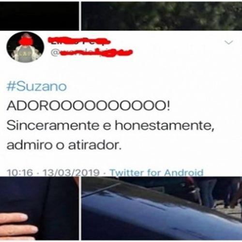 Professor culpa Bolsonaro e internauta comemora massacre: 'admiro o atirador'