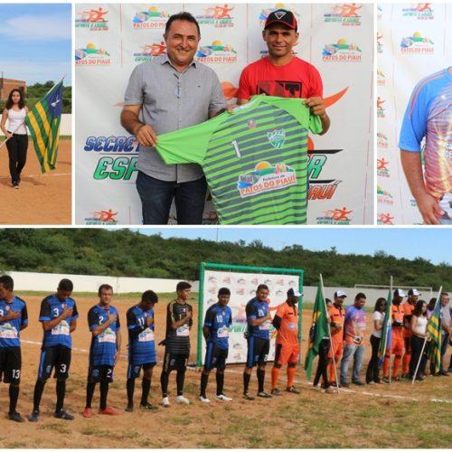 PATOS | Campeonato Municipal de Futebol é iniciado e vai escolher o melhor time da temporada