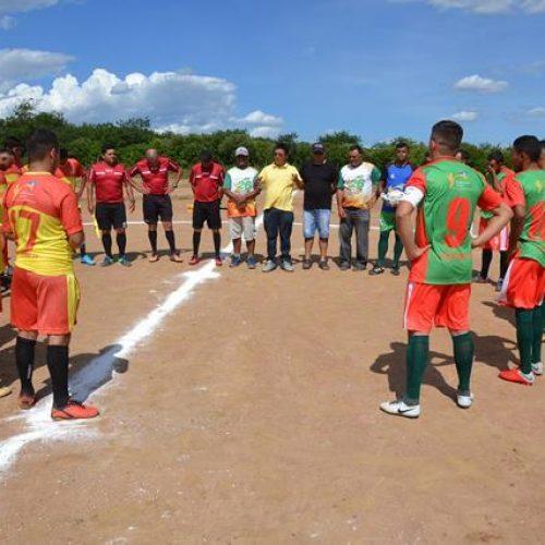 Prefeitura de Caldeirão Grande do Piauí abre o 27º Campeonato de Futebol