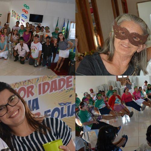 Social de Jacobina inicia atividades do Serviço de Convivência dos idosos com folia de carnaval