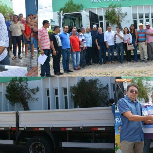 Prefeitura de Jaicós recebe caminhão para agricultura familiar