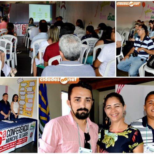 SANTANA│Prefeitura realiza 6ª Conferência Municipal de Saúde e discute melhorias; veja fotos