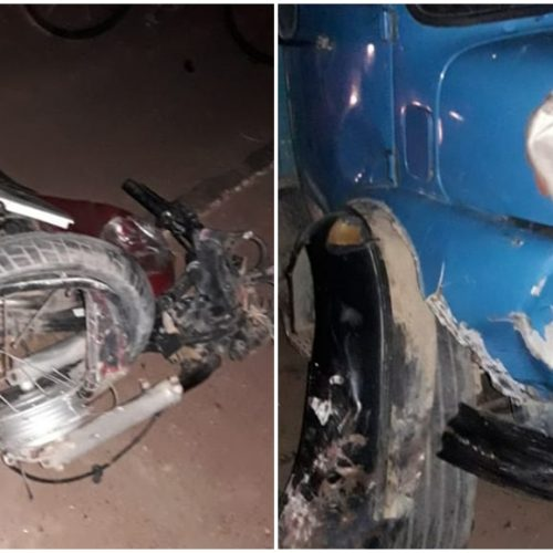 Em Marcolândia, motociclista morre após bater de frente com caminhão