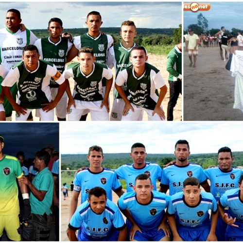 Serra Velha e São José disputarão a grande final do 20º Campeonato de Futebol de Alagoinha do Piauí