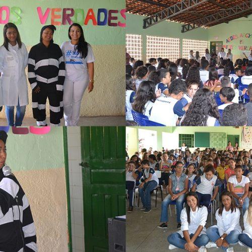 SIMÕES | Secretaria de Saúde realiza campanha contra o mosquito da dengue em escolas