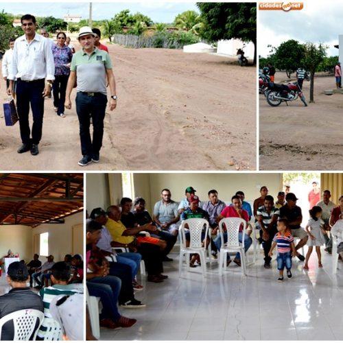 PIO IX│Moradores do povoado Nova Esperança e técnicos do Governo Estadual se reúnem para discutir sobre impactos dos projetos econômicos