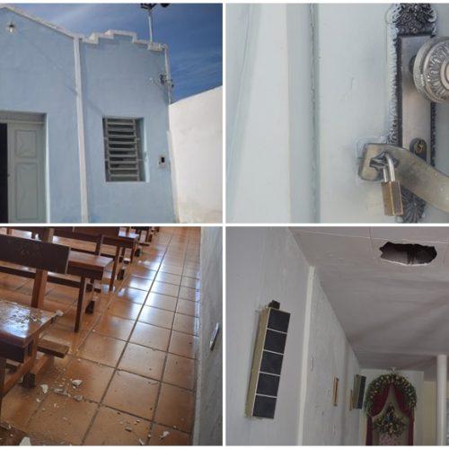 Em Picos, igreja do bairro São Vicente é arrombada duas vezes em menos de uma semana