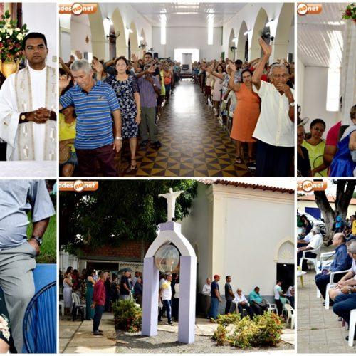 Veja as fotos da missa solene de São José em Inhuma