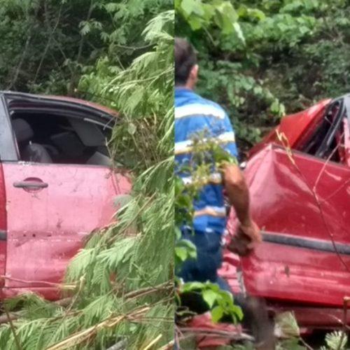Empresária morre em grave acidente de carro na BR-230
