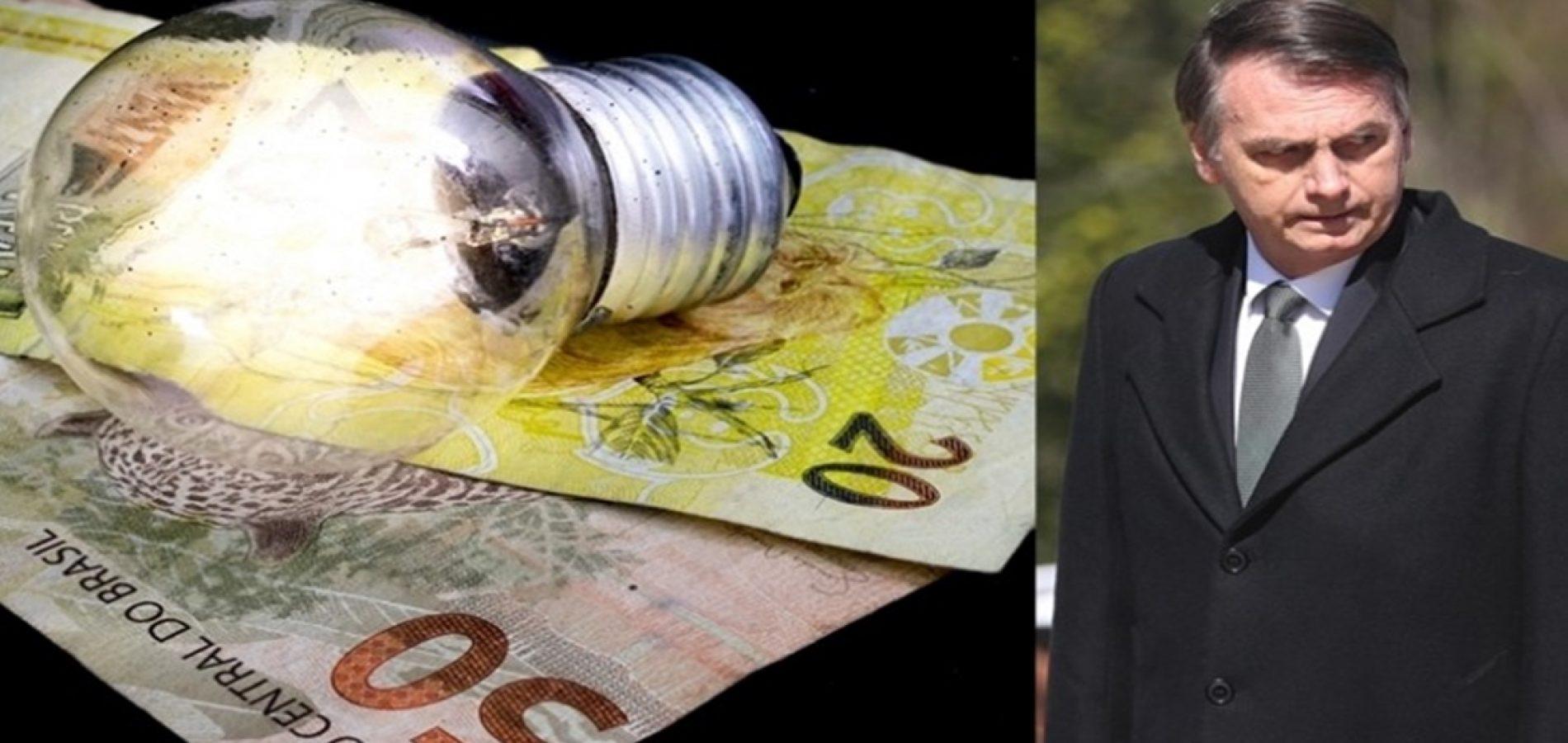 Conta de luz terá redução histórica após Bolsonaro pagar dívida do governo Dilma